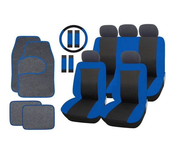 Streetwize Car Seat Cover And Mat Bundle Set