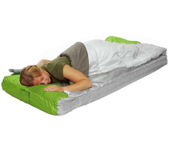 Inflatable Beds Argos: Readybed Single All-In-One Camping Airbed Inflatable