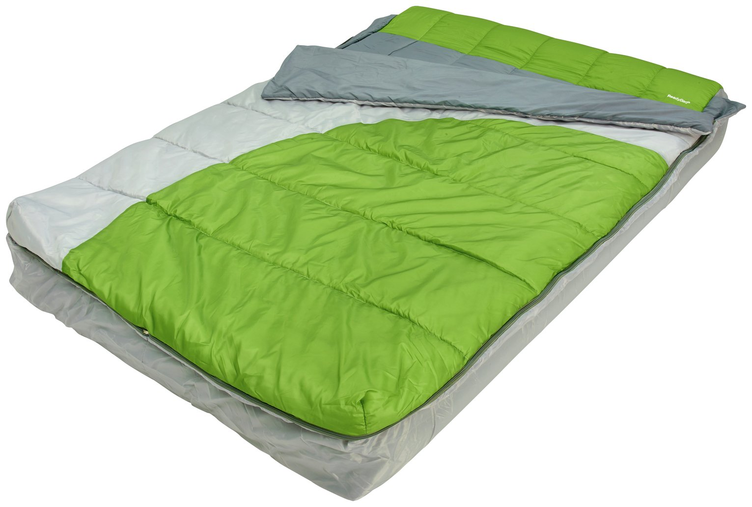 ReadyBed Double Inflatable Camping Air Bed and Sleeping Bag