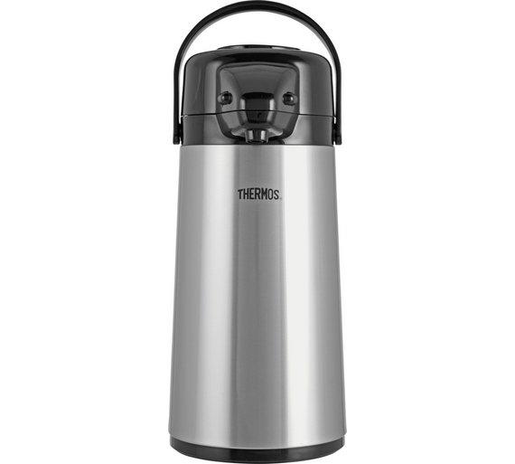 Buy Thermos Metropolis Pump Pot - 1.9L | Flasks | Argos