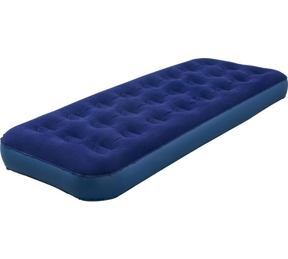 Inflatable Beds Argos: Buy Lichfield Single Deluxe Camping Airbed With Pump At