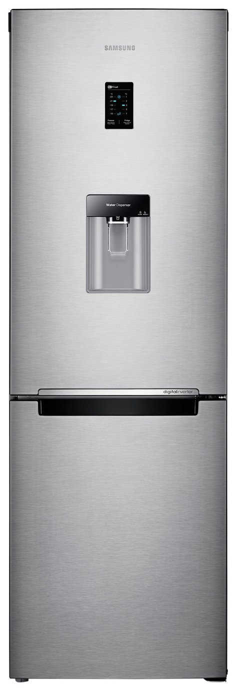 Samsung RB31FDRNSA Frost Free Tall Fridge Freezer - Silver