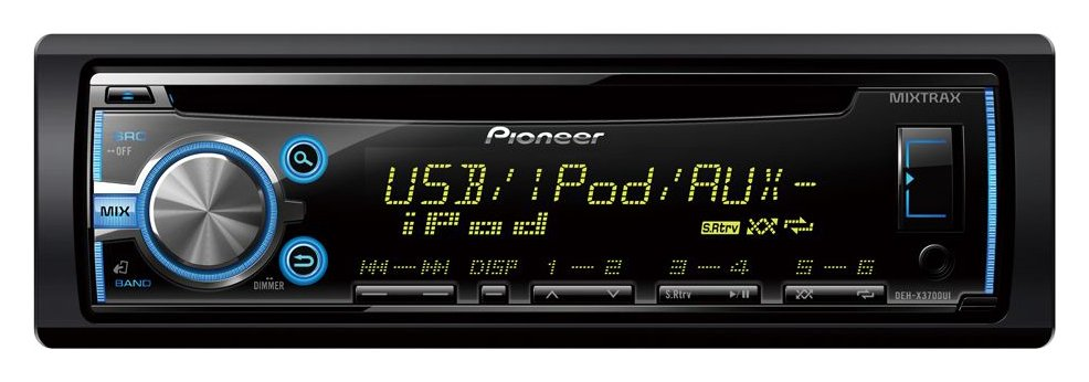 Pioneer DEH X3700UI FM/AM USB AUX CD Car Stereo