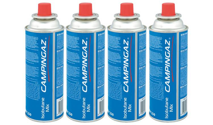 Buy Campingaz CP250 Resealable Gas Cartridges - 4 Pack   Camping stoves and  cookers   Argos