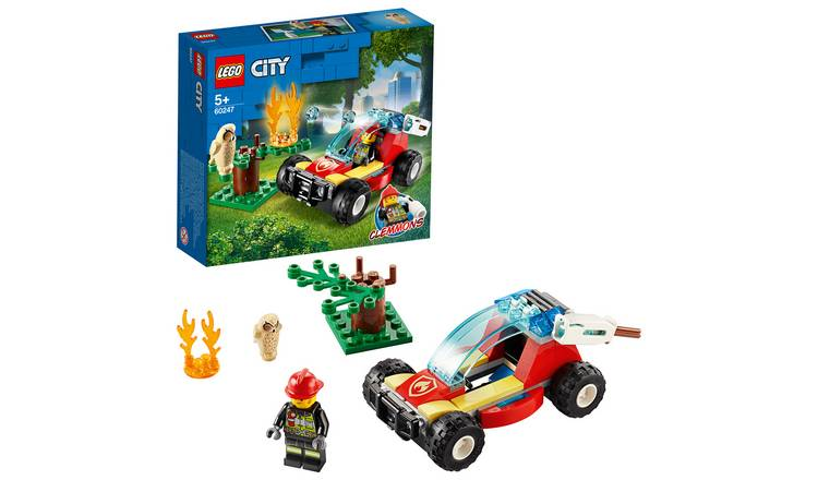 LEGO City Forest Fire Response Buggy Building Set - 60247