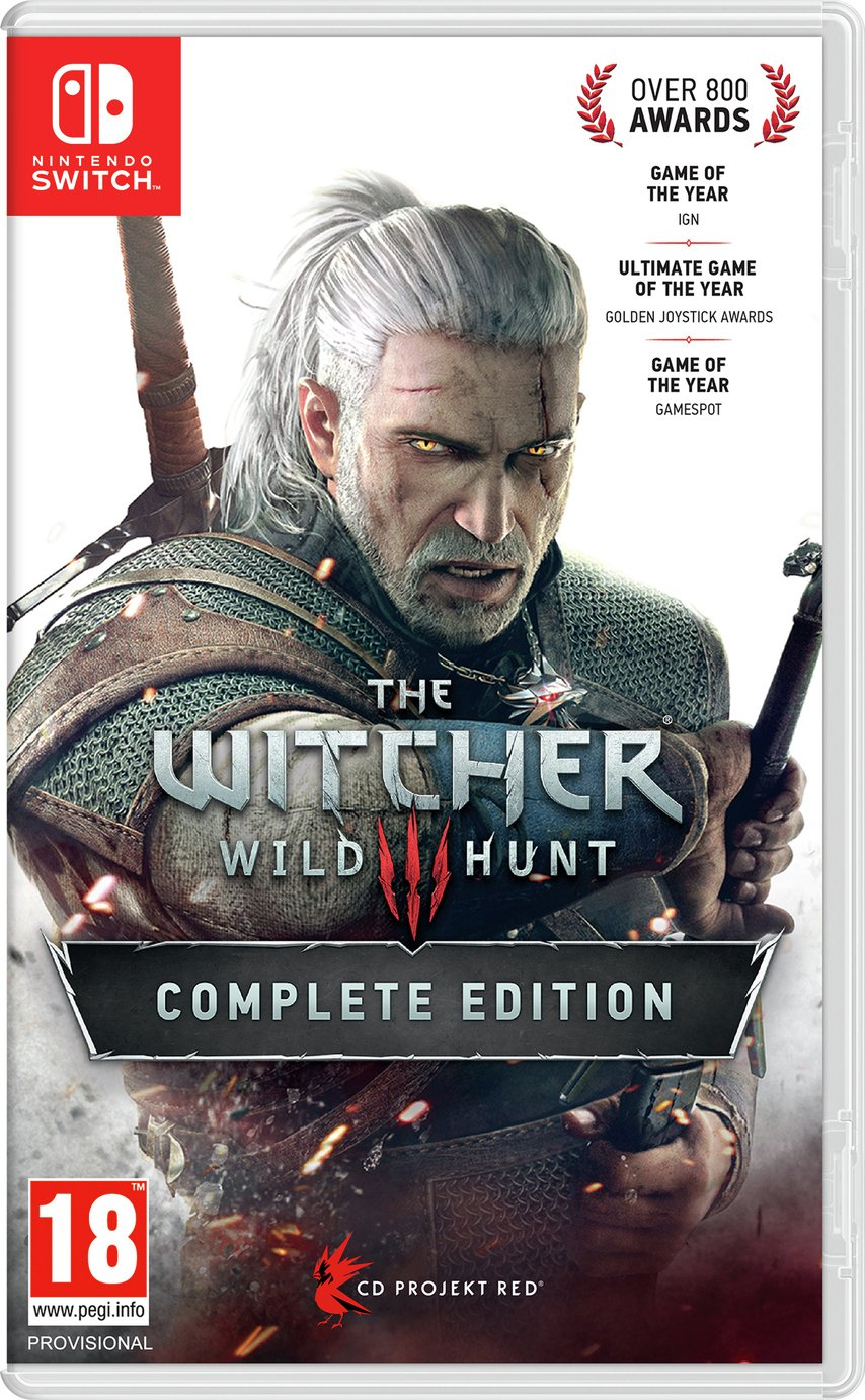 The Witcher 3: Wild Hunt Nintendo Switch Game
