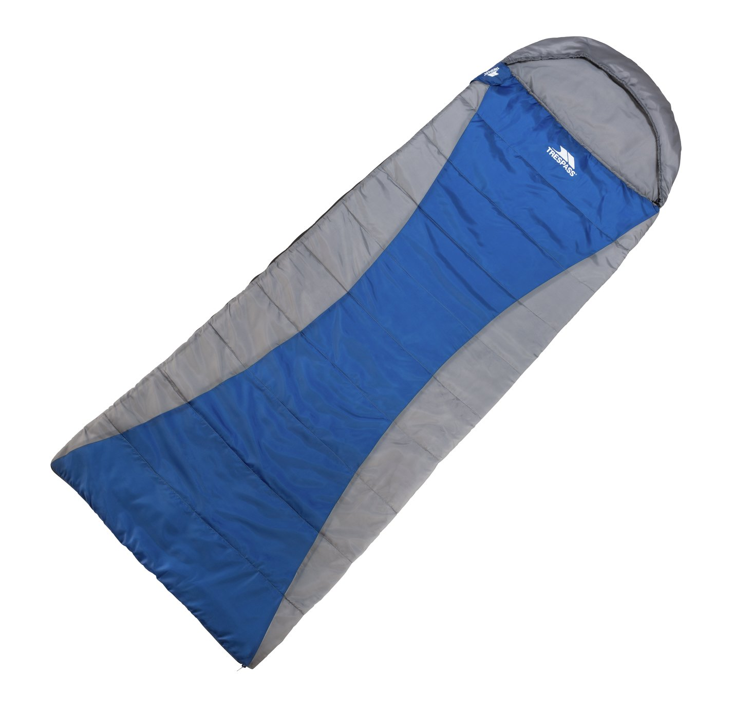 Trespass 300GSM Envelope Cowl Sleeping Bag