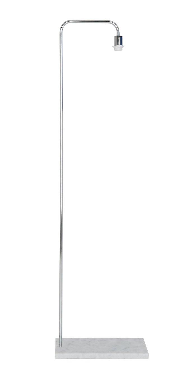 Habitat Marbelle Floor Lamp Base - Chrome