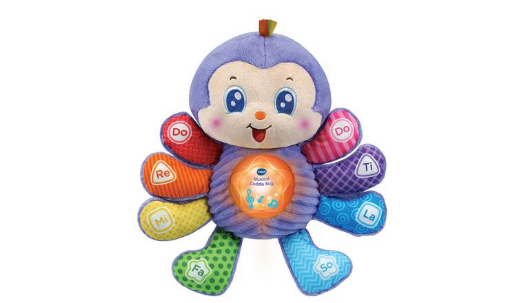 VTech Musical Cuddle Bug Soft Toy