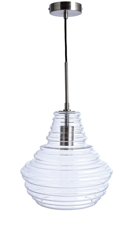 Habitat Saoirse Pendant Ceiling Light - Glass