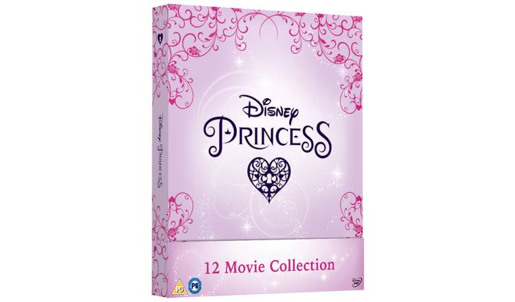 Disney Princess Complete Collection DVD Box Set