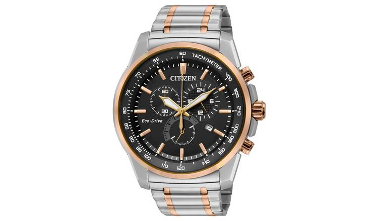 Citizen Men's Chronograph Stainless Steel Bracelet Watch