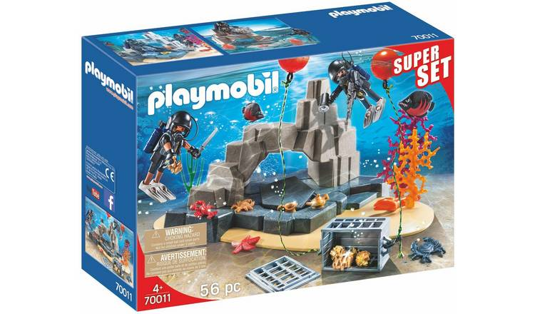 Playmobil 70011 Super Set Tactical Diving Playset
