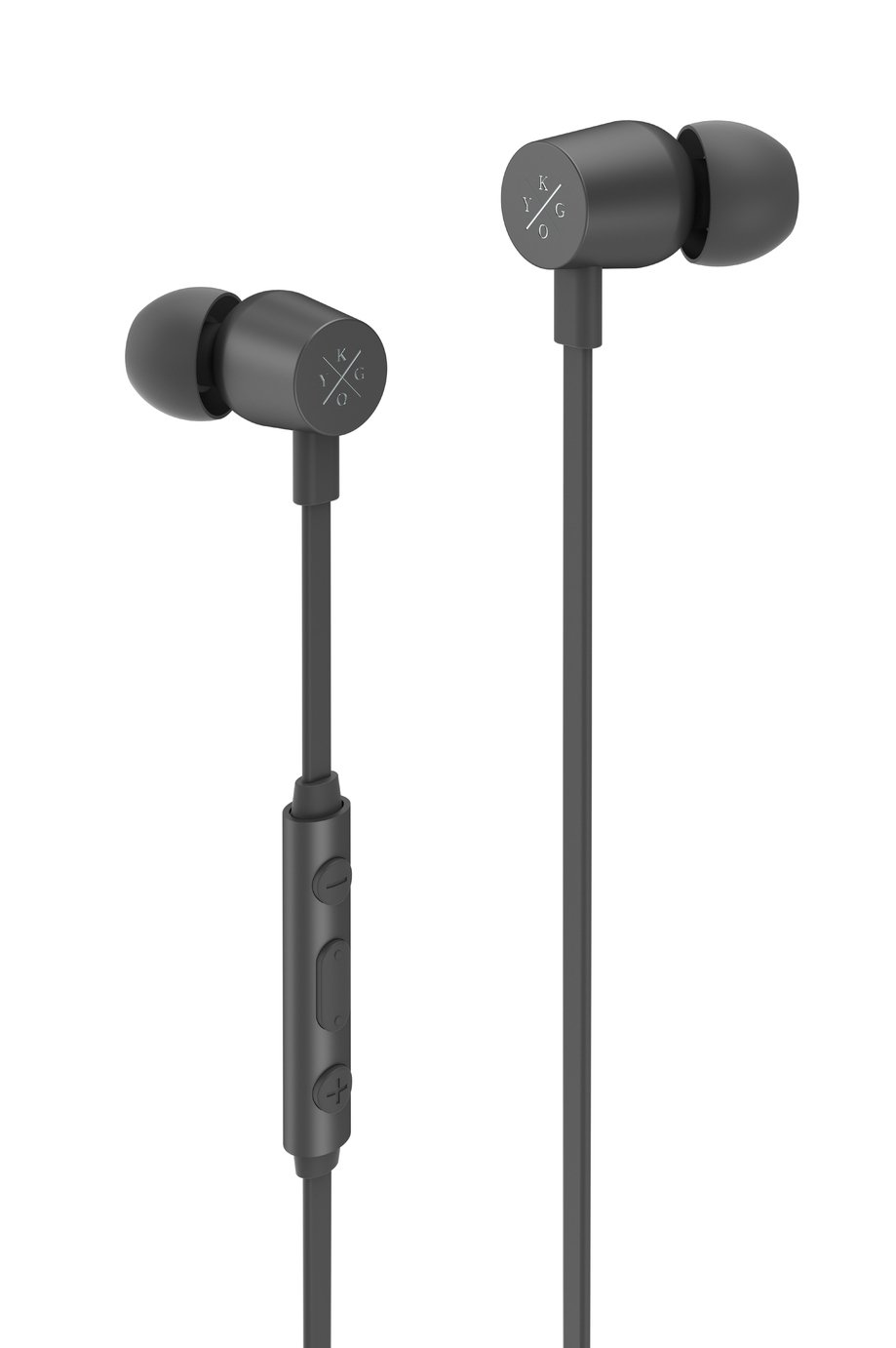 Kygo E2/400 In-Ear Wired Headphones - Black