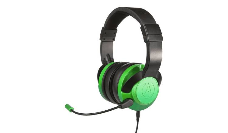 Xbox, PS4, Switch, PC FUSION Wired Headset - Emerald Fade