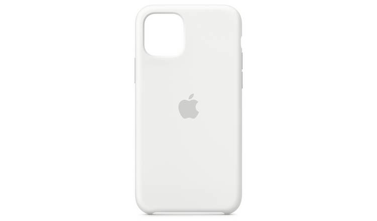 Apple iPhone 11 Pro Silicone Phone Case - White