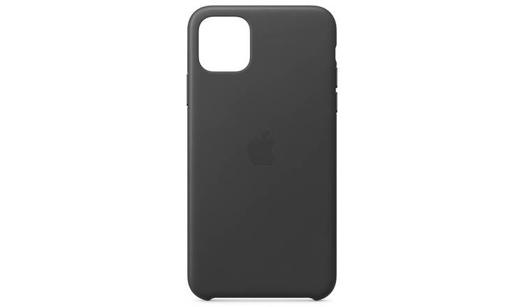 Apple iPhone 11 Pro Max Leather Phone Case - Black