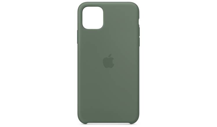Apple iPhone 11 Pro Max Silicone Phone Case - Pine Green