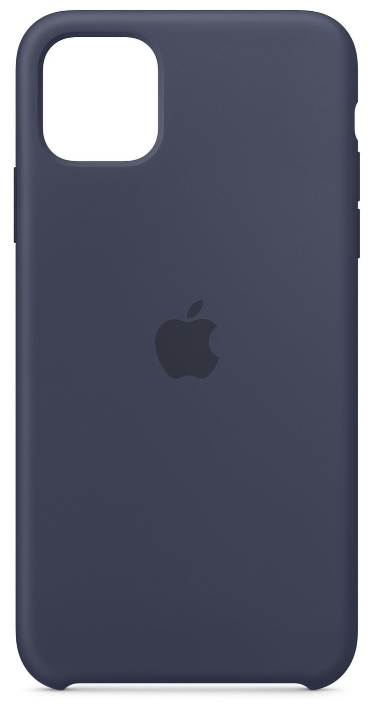 Apple iPhone 11 Pro Max Silicone Phone Case - Midnight Blue