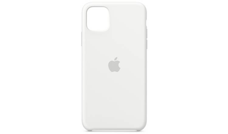 Apple iPhone 11 Pro Max Silicone Phone Case - White