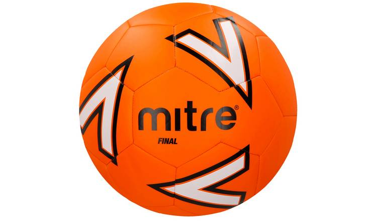 Mitre Final Size 5 Football - Orange