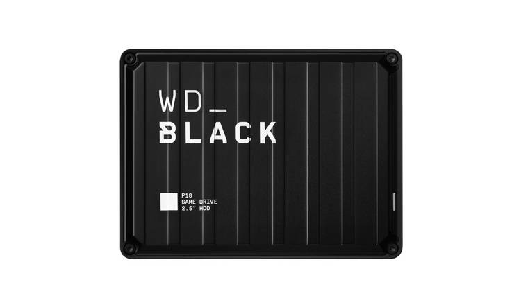 WD Black P10 4TB Portable Gaming Drive for Console or PC
