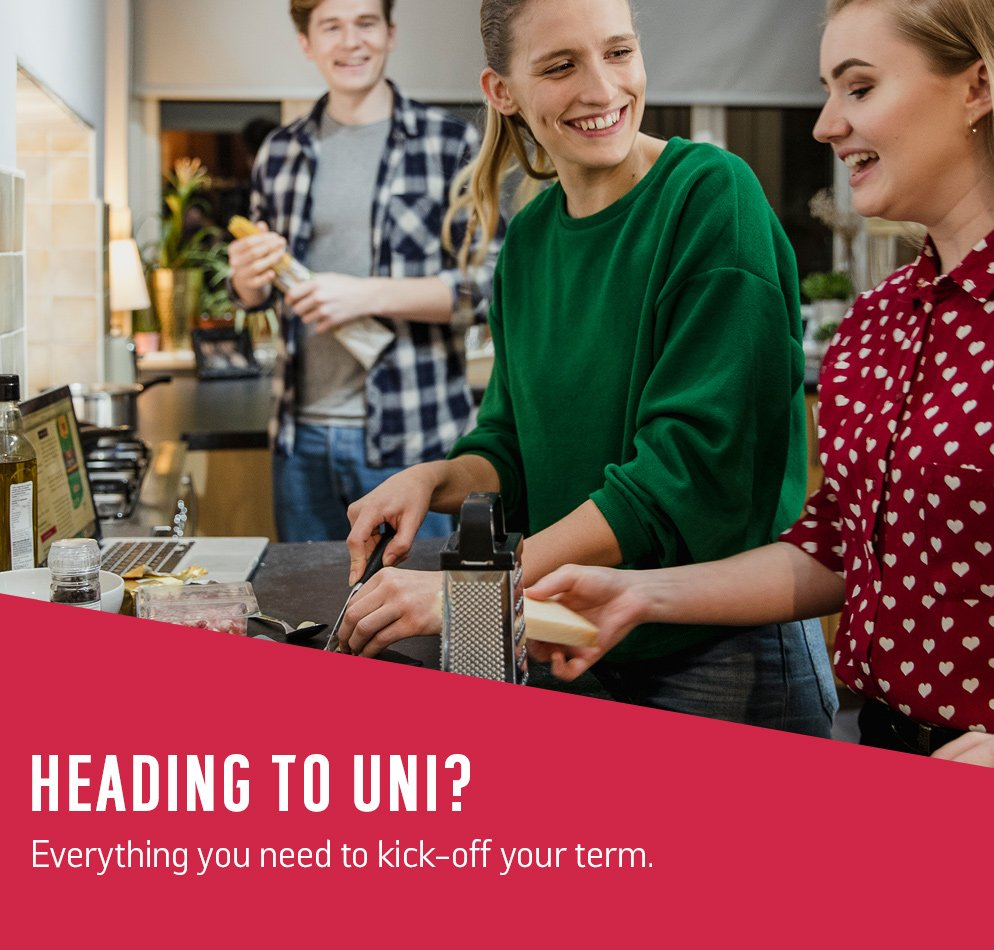 Heading to Uni? Everything you need to kick-off your term.