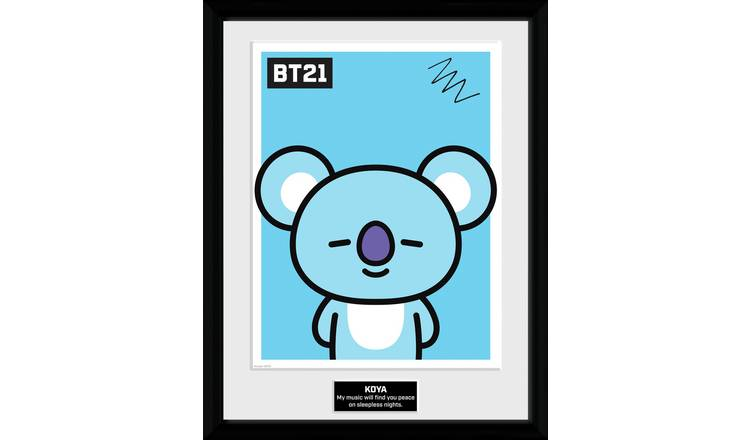 BT21 Koya Framed Print Wall Art