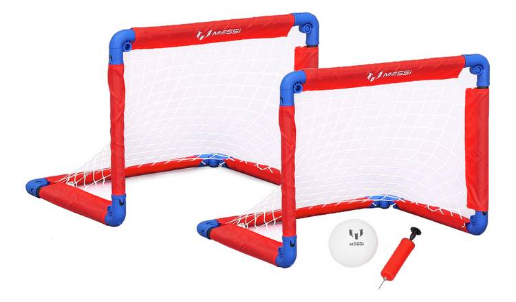 Messi Foldable Football Goal - Set of 2