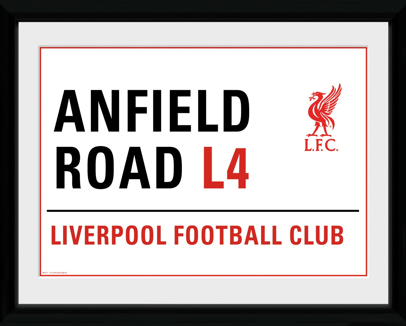 Liverpool FC Anfield Sign Framed Print