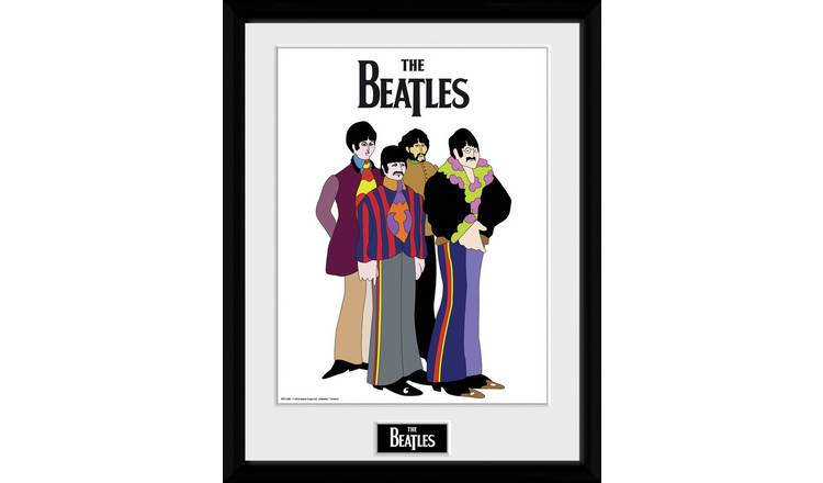 The Beatles Yellow Submarine Framed Print Wall Art