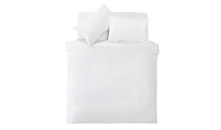 Silentnight White Supersoft Bedding Set - Kingsize