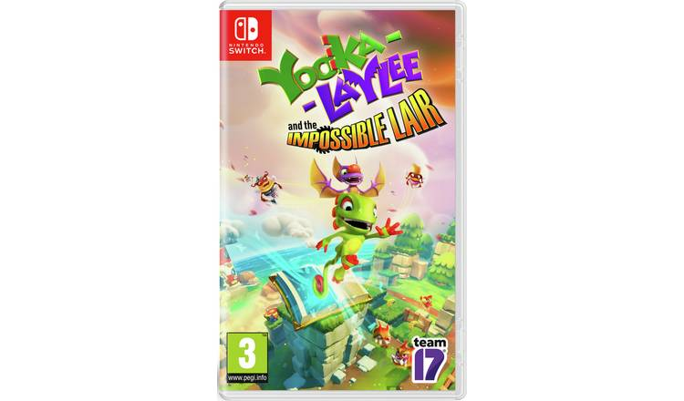 Yooka Laylee and the Impossible Lair Nintendo Switch Game