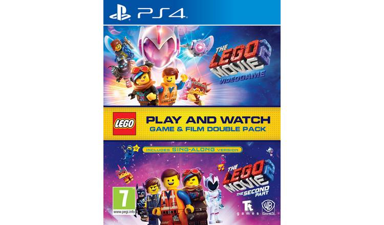LEGO Movie 2 PS4 Game & Movie Double Pack
