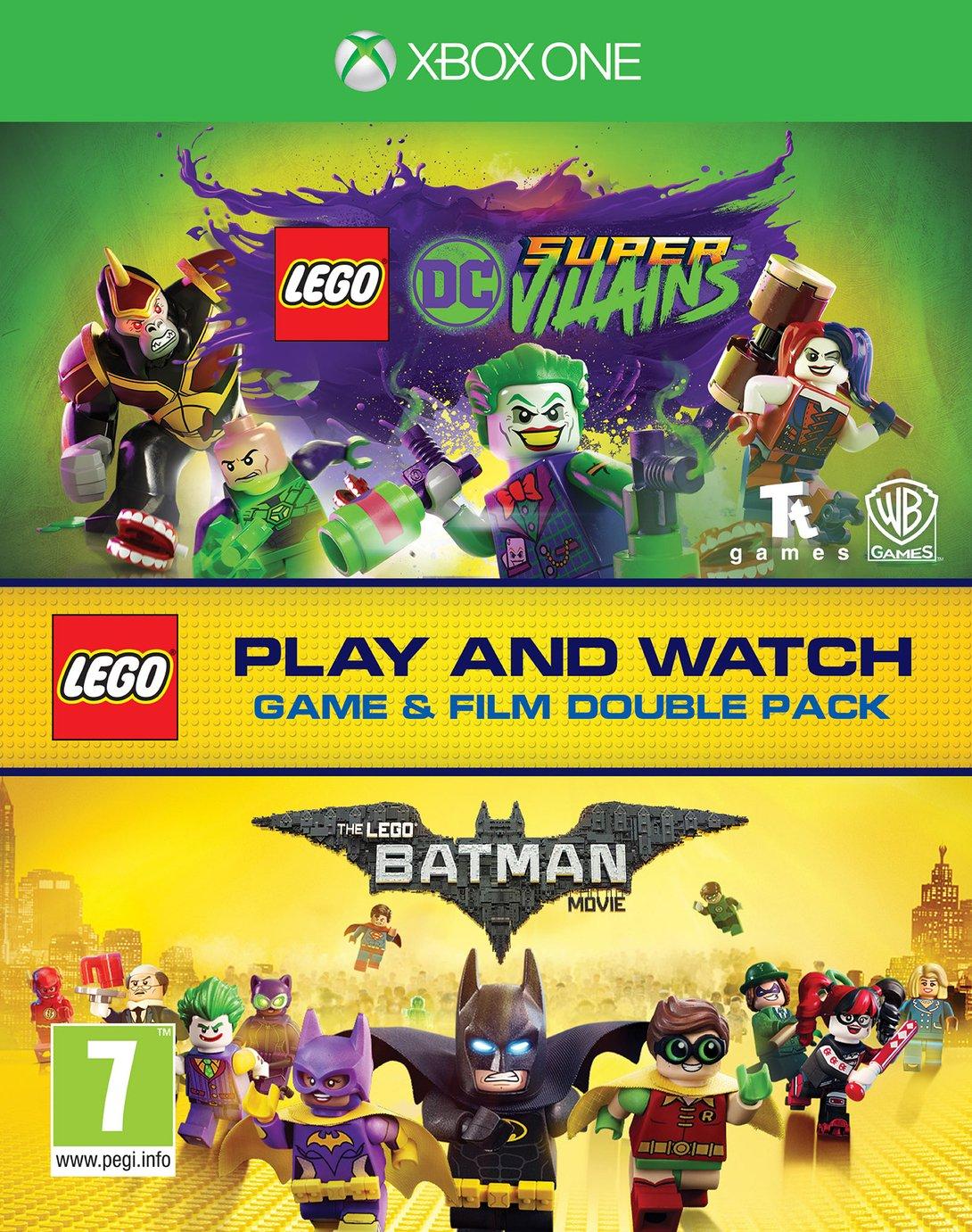 LEGO DC Villains & LEGO Batman Movie Bundle Xbox One Game