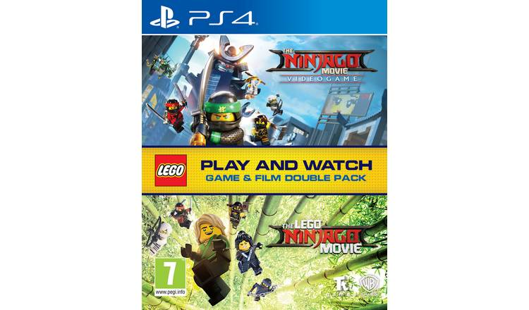 LEGO Ninjago Double Pack PS4 Game & Movie Bundle