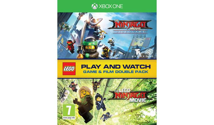 LEGO Ninjago Xbox One Game & Movie Double Pack