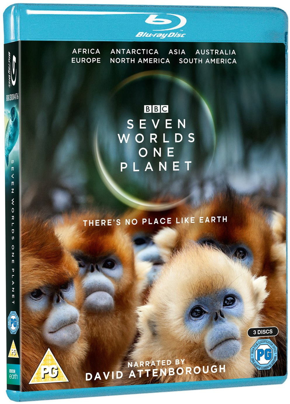 Seven Worlds, One Planet Blu-ray
