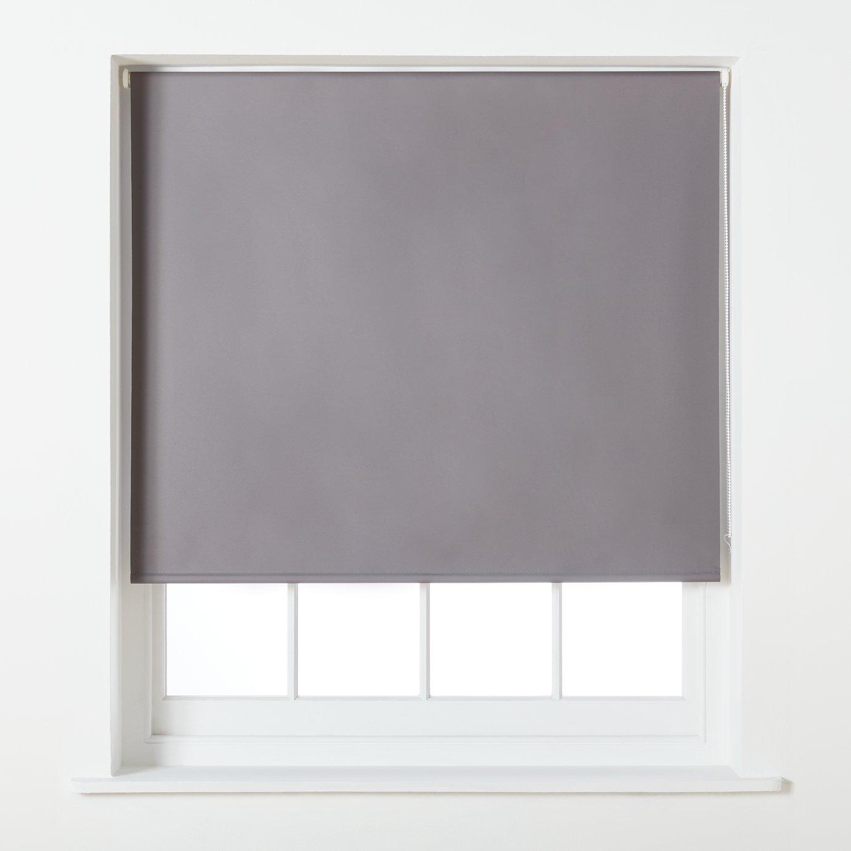 Argos Home Blackout Roller Blind - 6ft - Grey