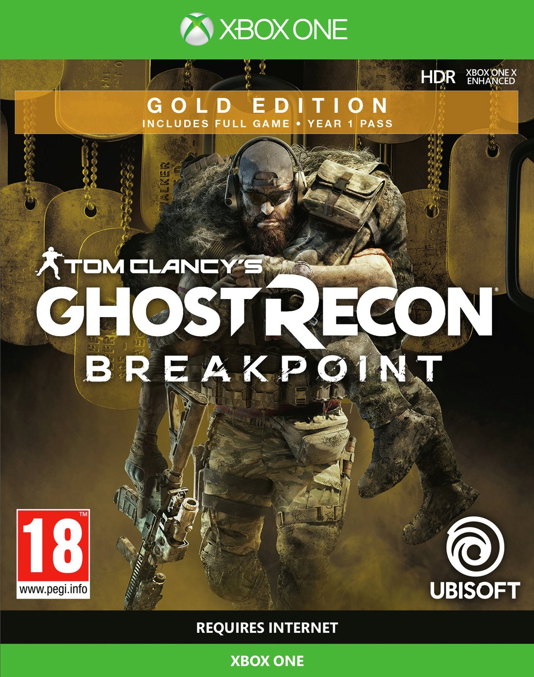Ghost Recon Breakpoint Gold Edition Xbox One Pre-Order Game