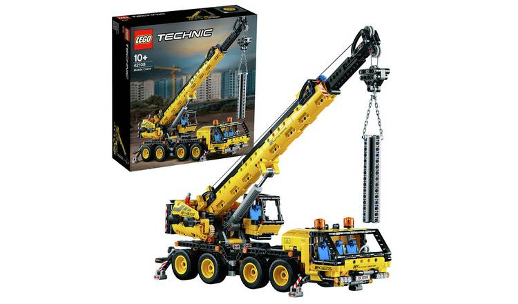 LEGO Technic Mobile Crane Truck Toy - 42108