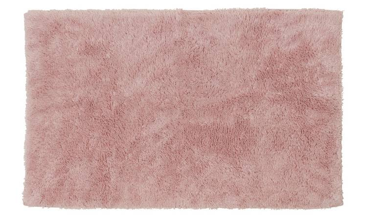 Argos Home Bath Mat - Blush