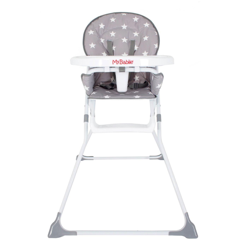 My Babiie Grey Stars Highchair