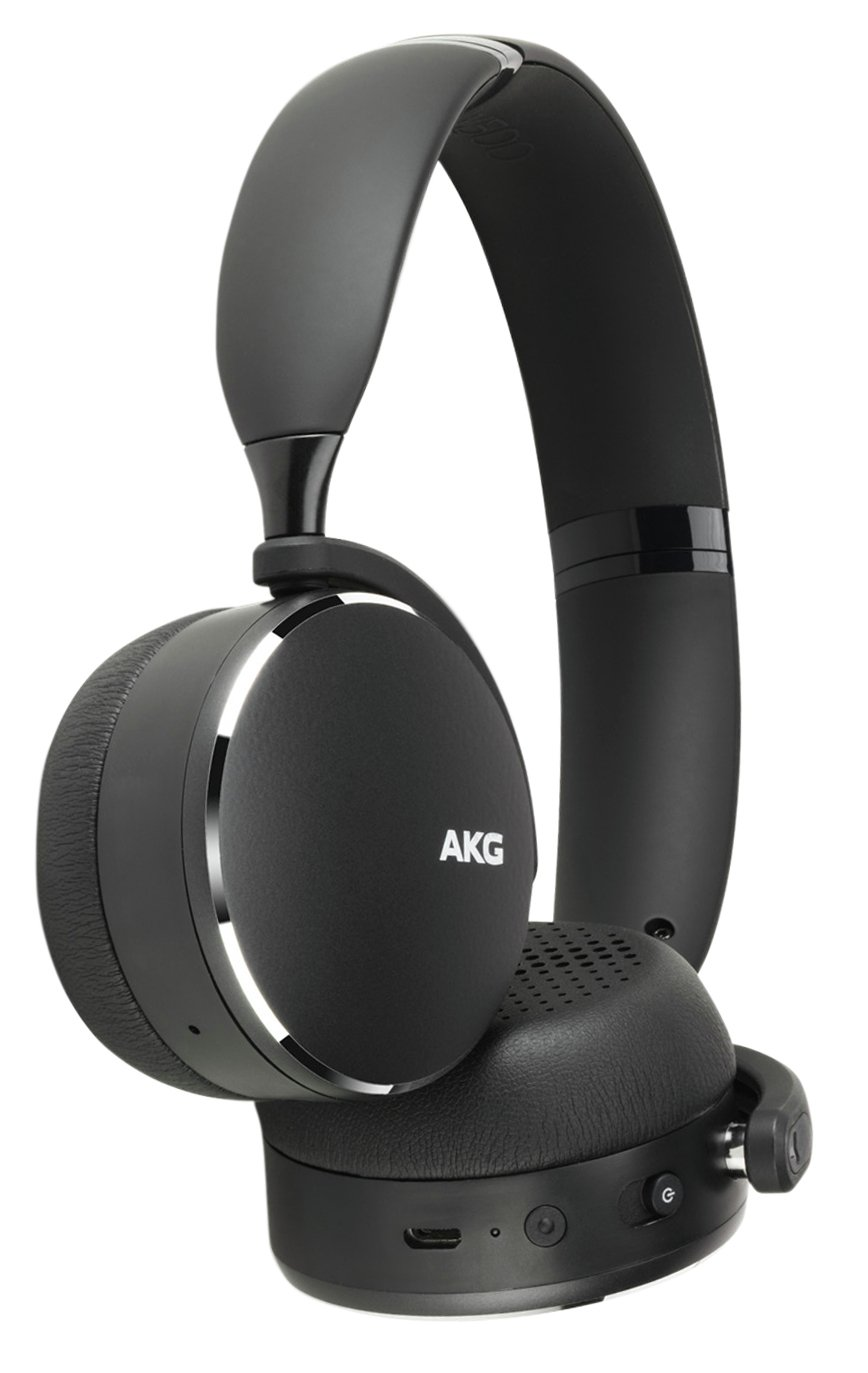 AKG Y500 On-Ear Wireless Headphones - Black