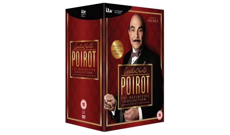 Poirot: The Definitive Collection DVD Box Set