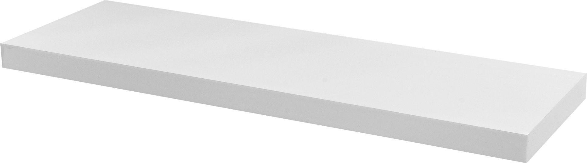 Argos Home Glenmore 80cm Floating Shelf - High White Gloss
