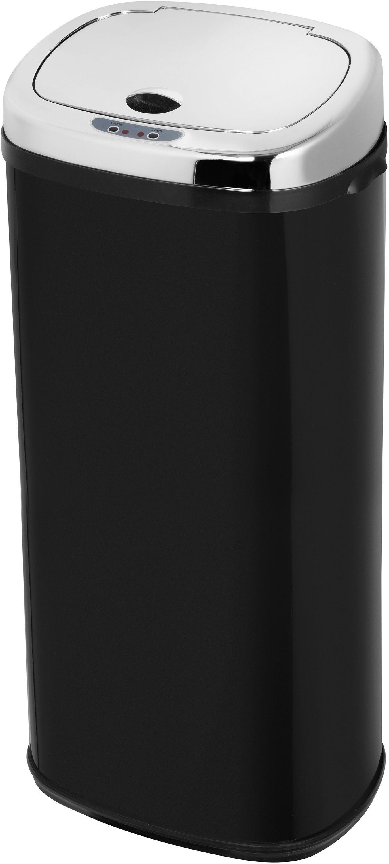 Morphy Richards Chroma 50L Square Sensor Bin - Black