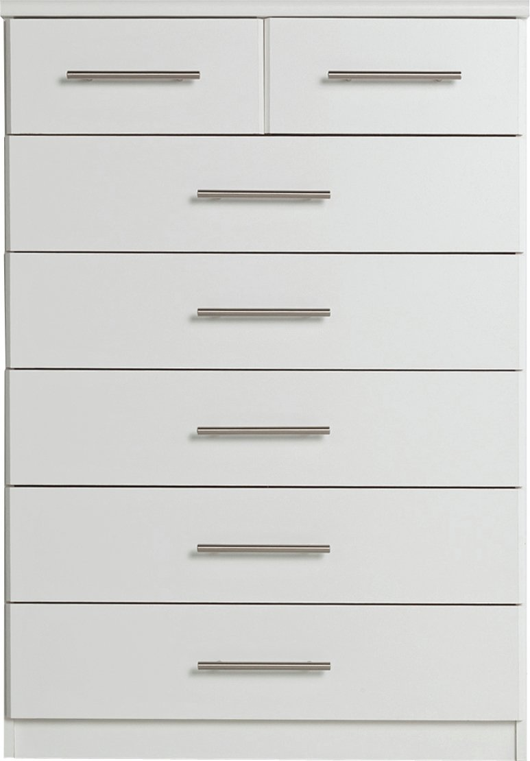 Home Normandy  Drawer Chest White