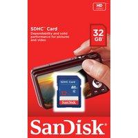 SanDisk - Blue SD - Memory Card - 32GB