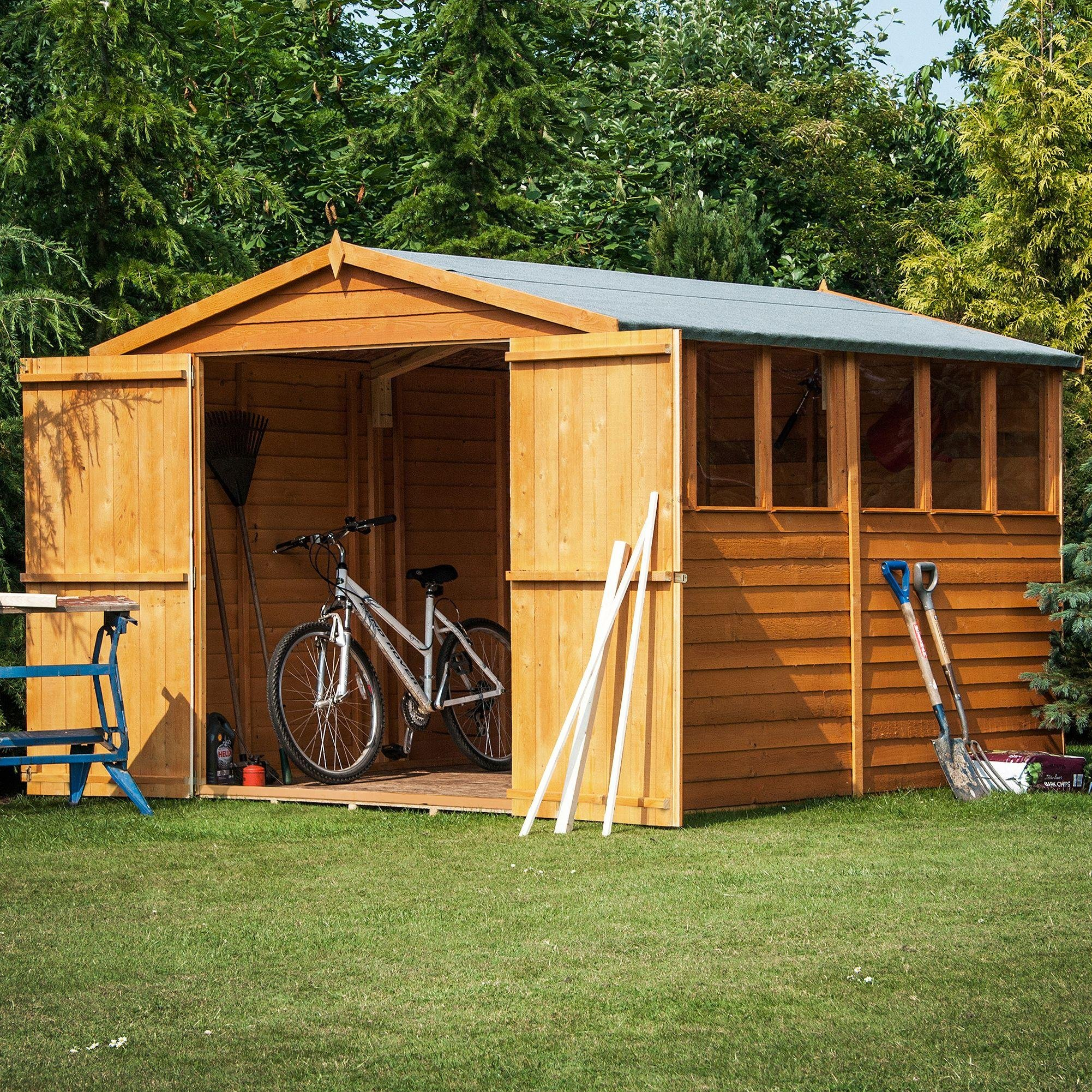 shed sale discounts on wooden metal sheds summer houses. Black Bedroom Furniture Sets. Home Design Ideas